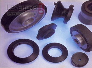 RUBBER MOULDINGS LEVELERS